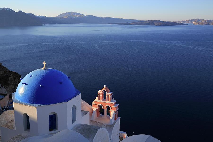 Santorini´s Panoramic View From Oia Photograph by Iñigo Escalante