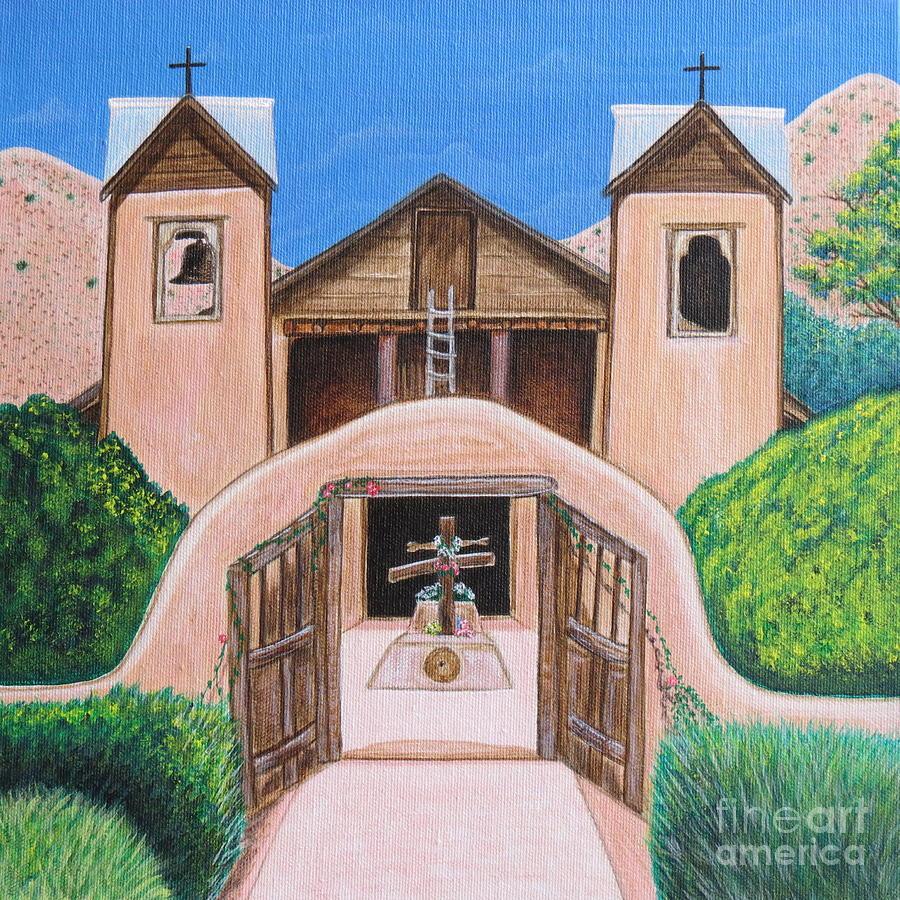 Chimayo Painting - Santuario De Chimayo by Aimee Mouw