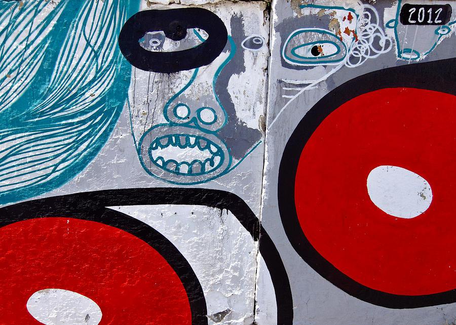 Graffiti Photograph - Sao Paulo Graffiti I by Julie Niemela