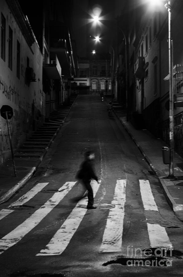 Ricardo Lisboa Photograph - Sao Paulo Streets by Ricardo Lisboa