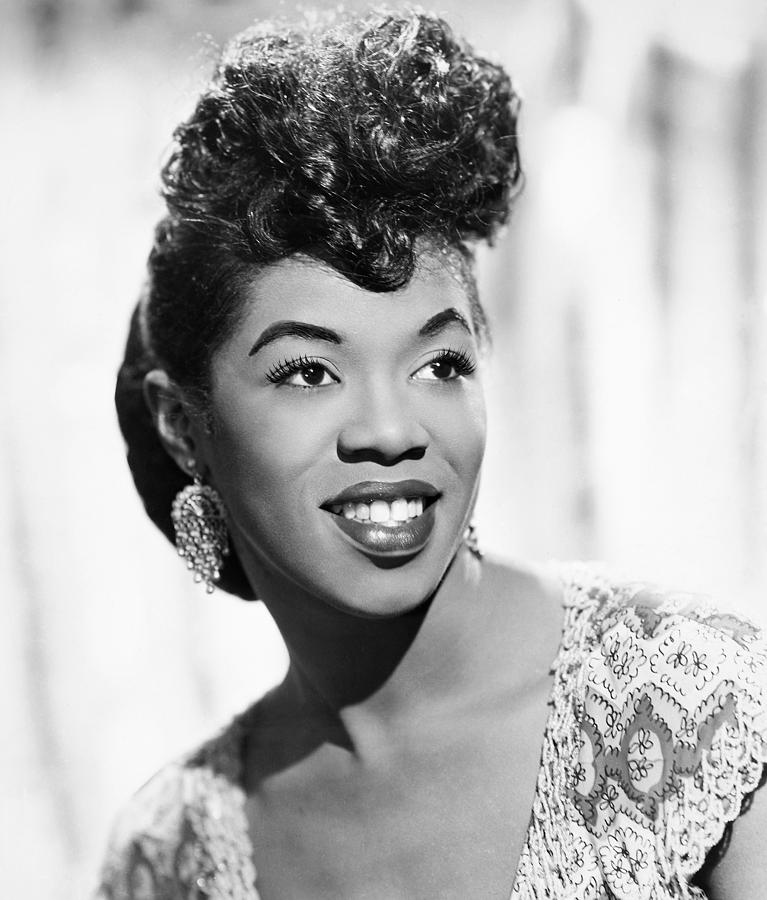 20th Century Photograph - Sarah Vaughan (1924-1990) by Granger