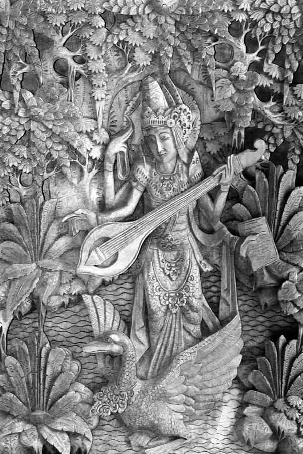 Saraswati Photograph - Saraswati - Supreme Goddess by Karon Melillo DeVega