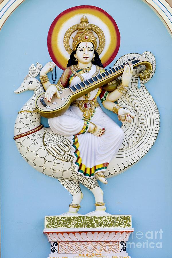 Saraswati Photograph - Saraswati by Tim Gainey