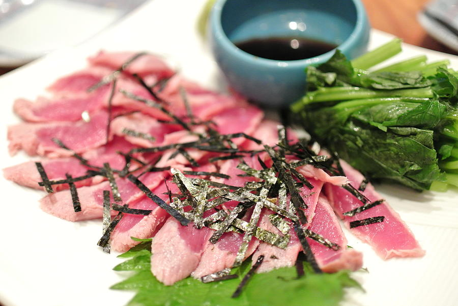 Sashimi Of Duck From Kyoto Photograph by D3 plus D.naruse @ Japan