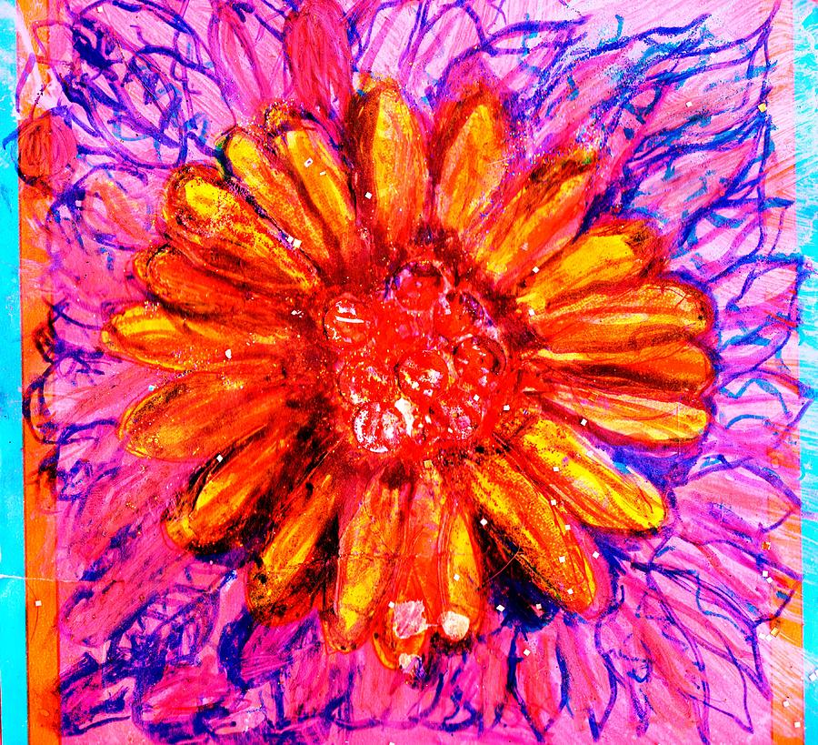 Bright Mixed Media - Sassy Bright by Anne-Elizabeth Whiteway