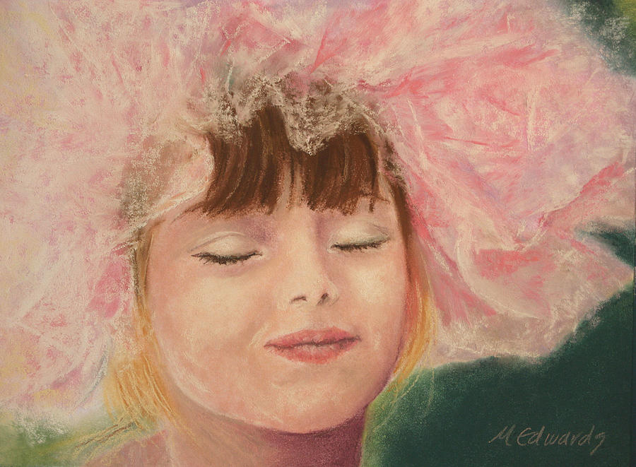 Sassy Pastel - Sassy In Tulle by Marna Edwards Flavell