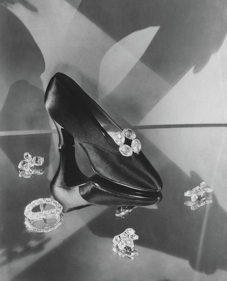 Satin High Heel Photograph by Edward Steichen