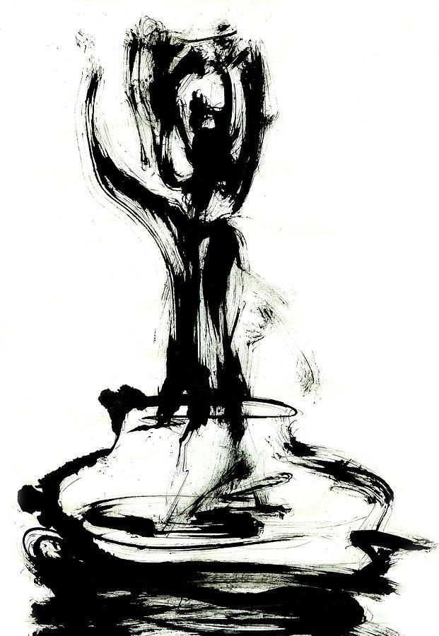 Meditation Painting - Satori by Yuri Lushnichenko