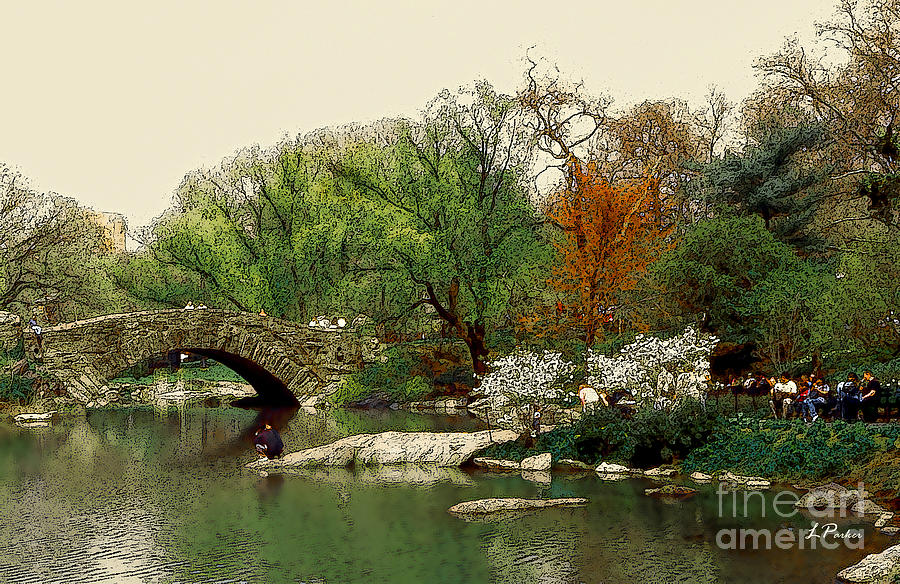 New York City Photograph - Saturday In Central Park by Linda  Parker