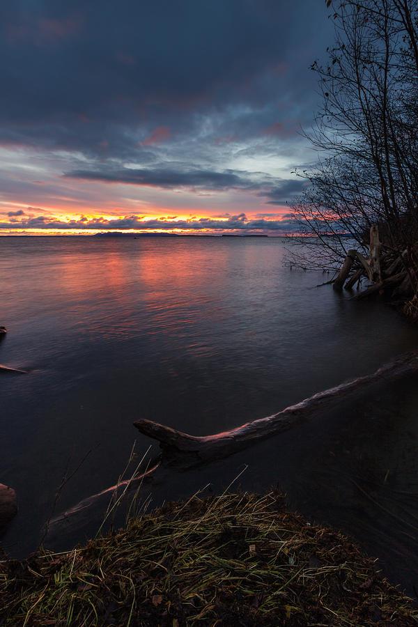 Sunrise Photograph - Saturday Morning Sunrise by Linda Ryma