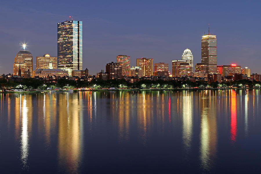 Boston Photograph - Saturday Night Live In Beantown by Juergen Roth