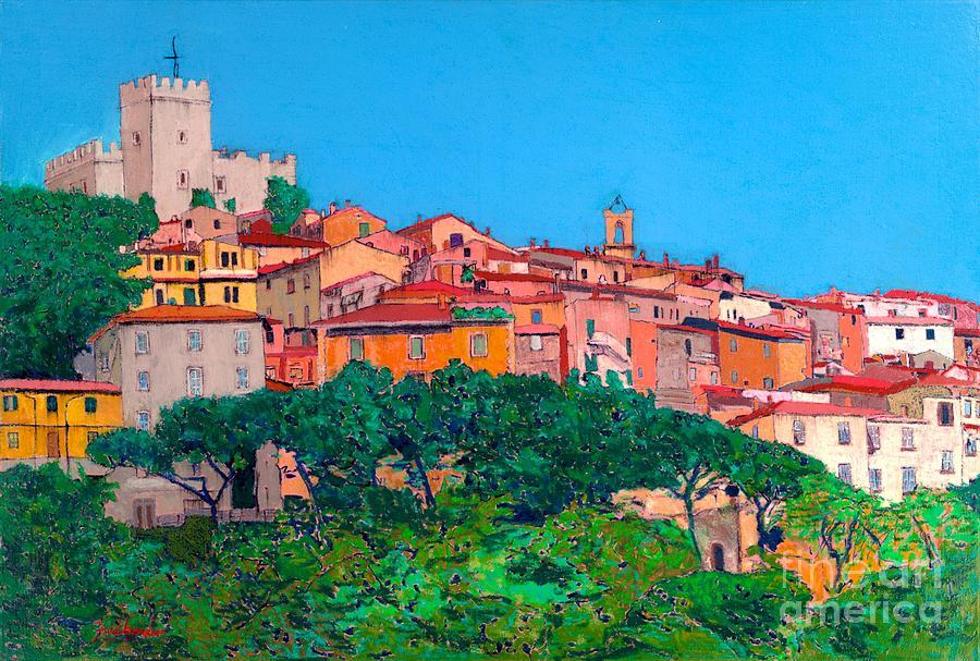 Landscape Painting - Saturina by Allan P Friedlander
