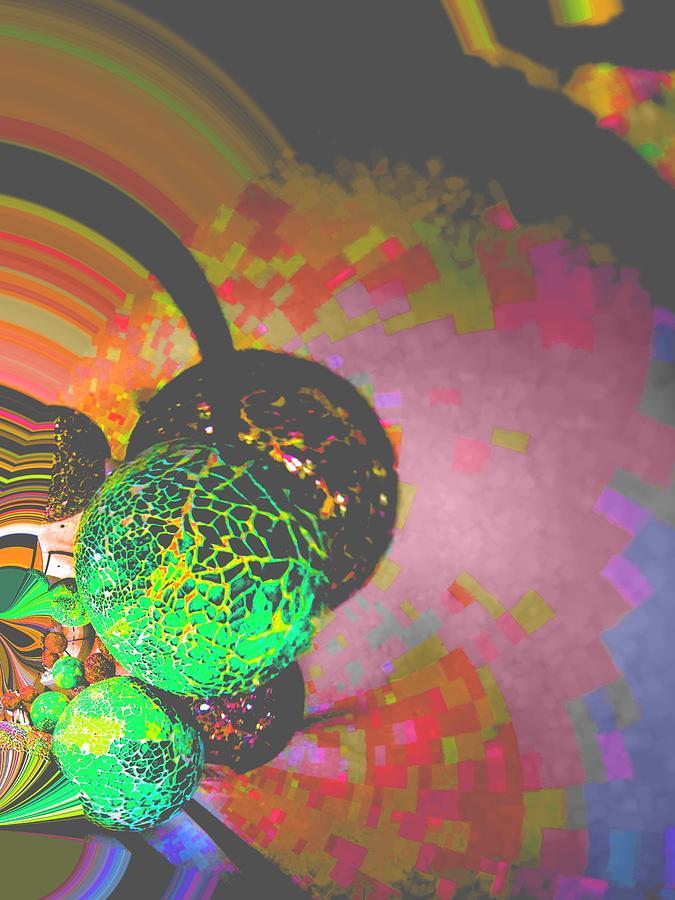 Nico Digital Art - Saturn by Nico Bielow