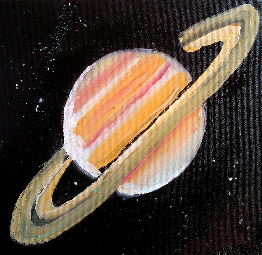 сатурн рисунок цветной этом