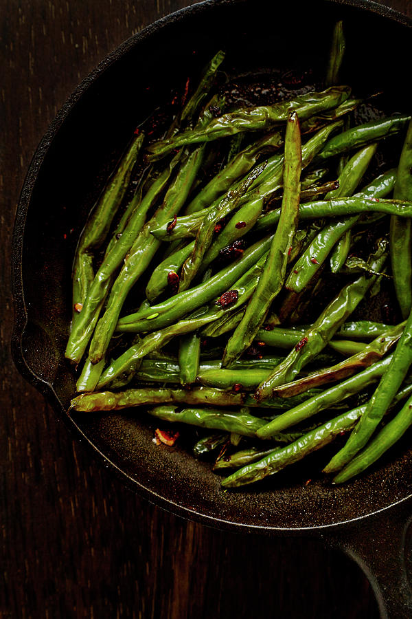 Sauteed String Beans Photograph by Joseph Clark
