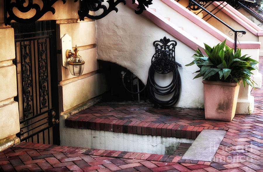 Door Photograph - Savannah Design by John Rizzuto