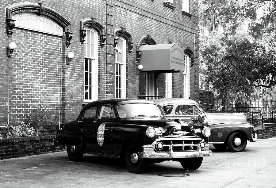 Savannah Photograph - Savannah Police Station by John Rizzuto
