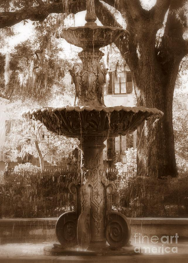 Savannah Photograph - Savannah Romance by Carol Groenen