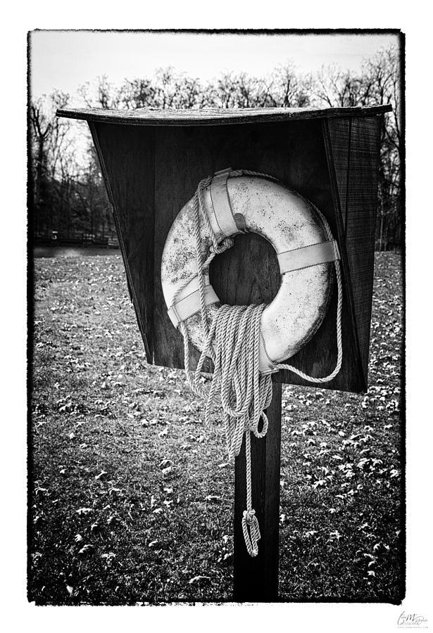 Grunge Photograph - Save Me - Art Unexpected by Tom Mc Nemar