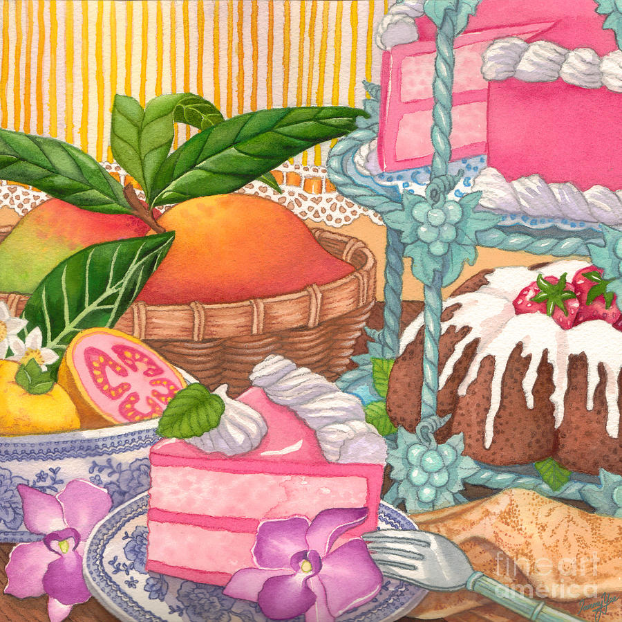 Dining Painting - Save Room For Desert by Tammy Yee