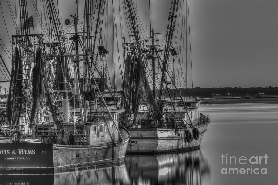 Save The Lowcountry Shrimping Photograph