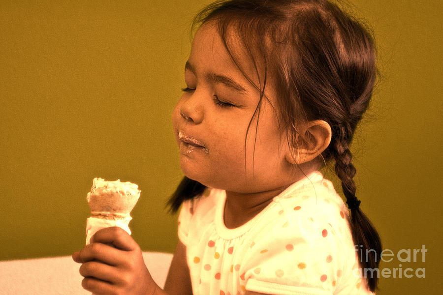 Savour The Flavour Baby Photograph