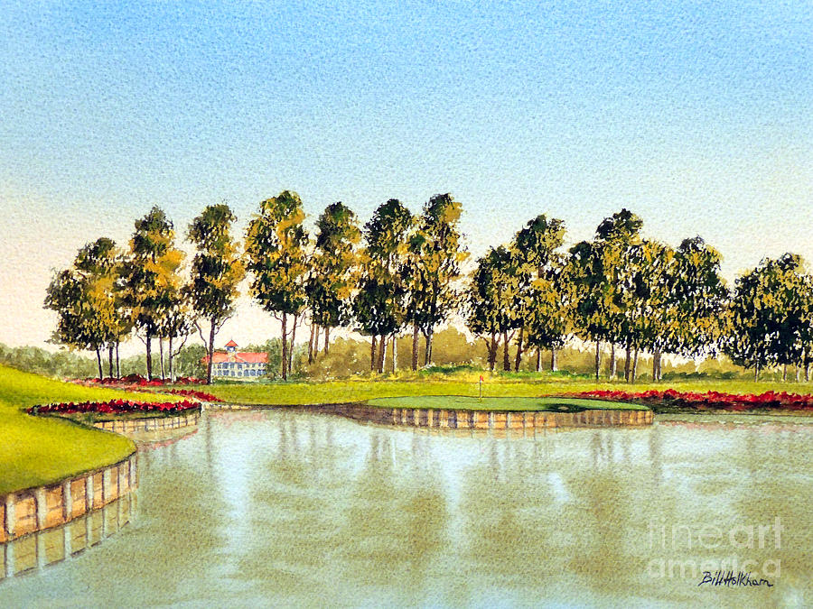 Sawgrass Tpc Golf Course 17th Hole Painting