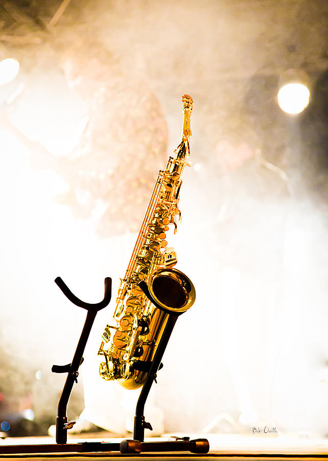 Sax Photograph - Saxophone  by Bob Orsillo