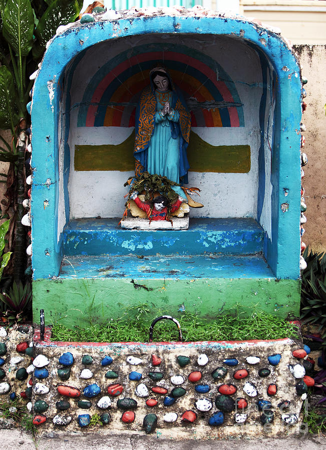 Religion Photograph - Say A Prayer In Bocas by John Rizzuto