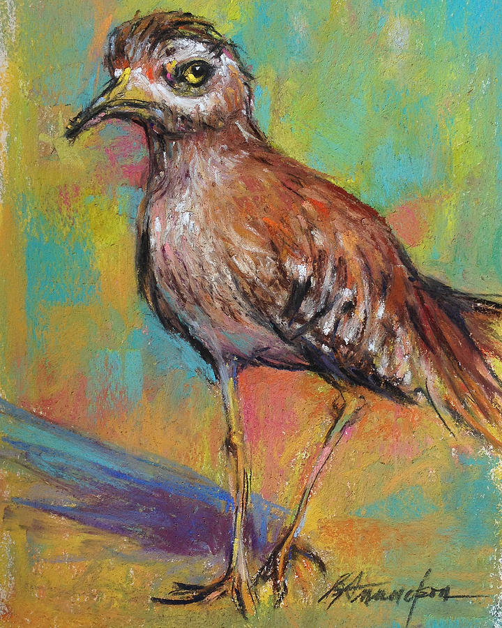 Bird Pastel - Say What by Beverly Amundson