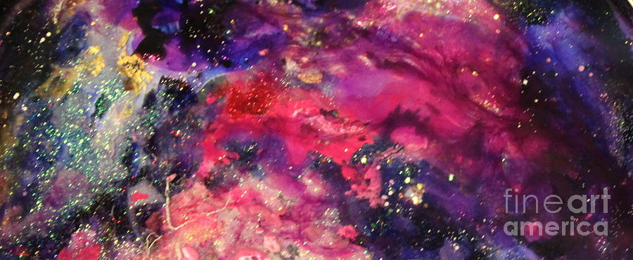 Spacescape Painting - Sc1004 by Kathleen Fowler