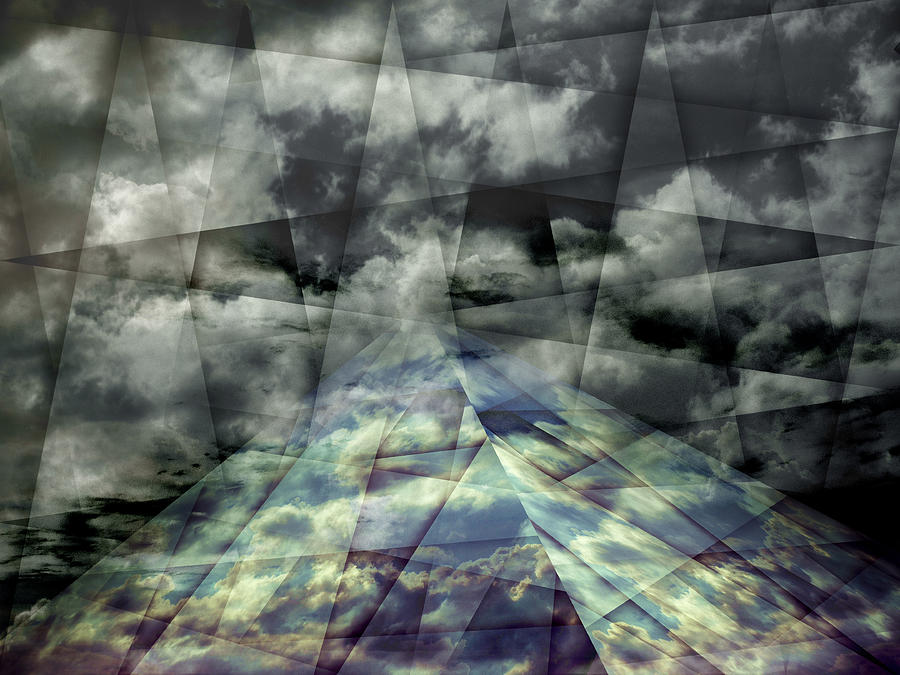 Abstract Photograph - Scaffold Of Time by Florin Birjoveanu