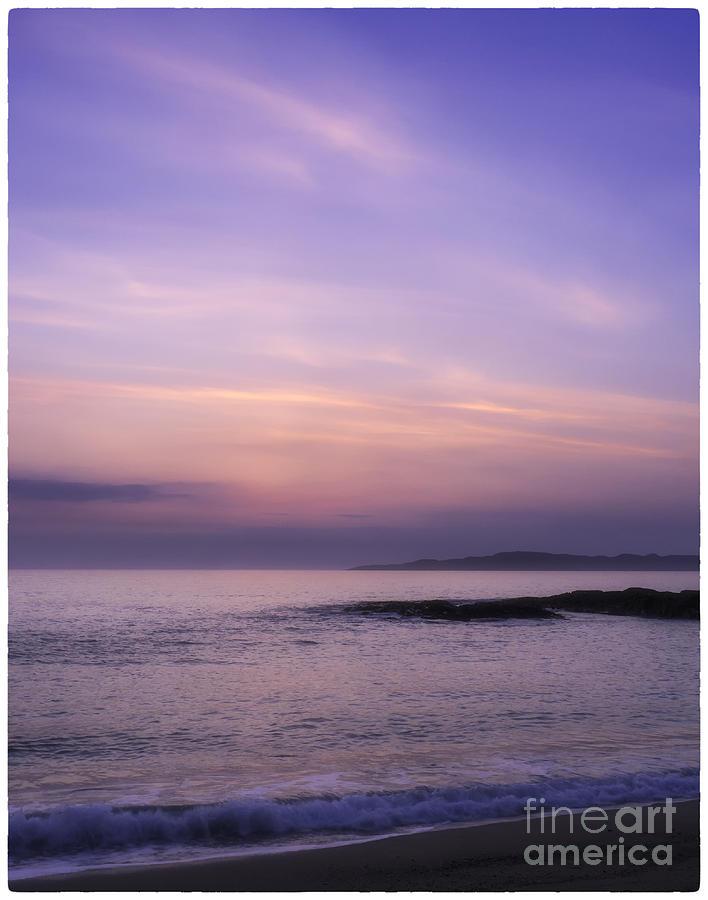 Landscape Photograph - Scarasta Sunset No2 by George Hodlin