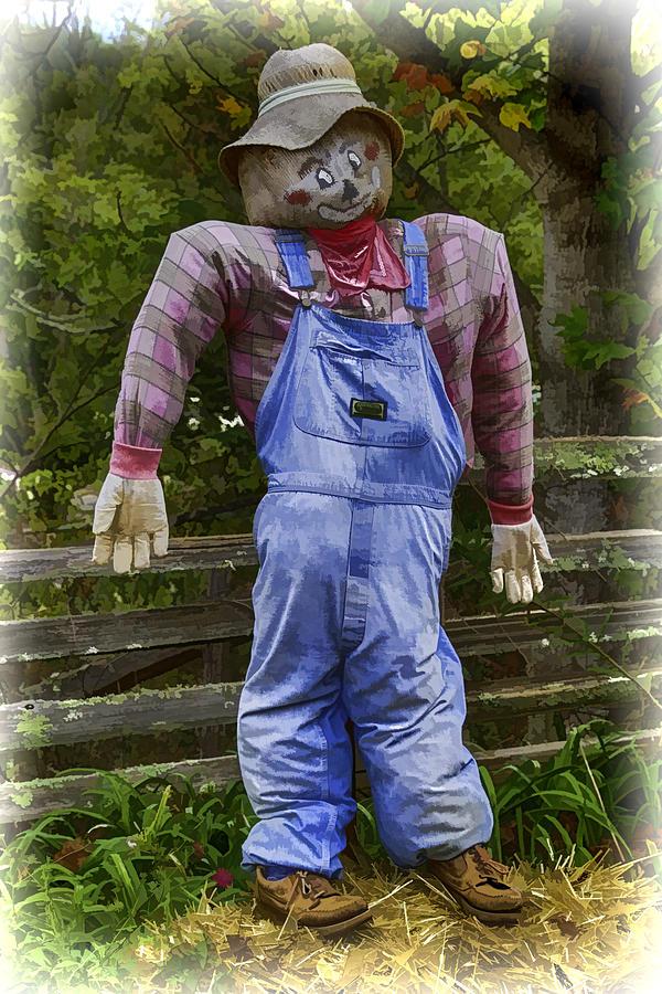Scarecrow Digital Art - Scarecrow by John Haldane