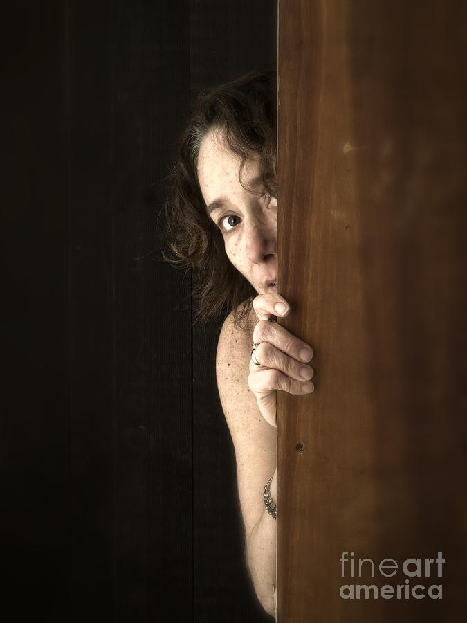 Scared Photograph - Scared by Edward Fielding