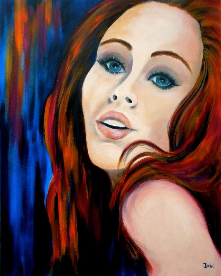 Debi Painting - Scarlets Secret by Debi Starr