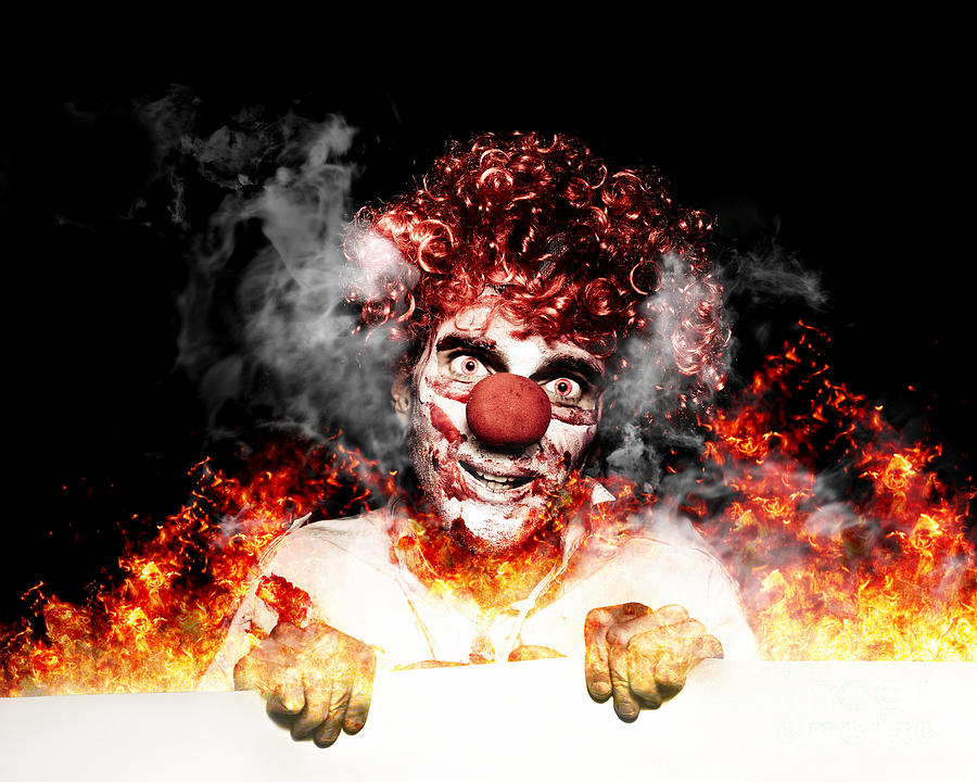 https://images.fineartamerica.com/images-medium-large-5/scary-clown-holding-blank-board-in-flames-and-fire-ryan-jorgensen.jpg