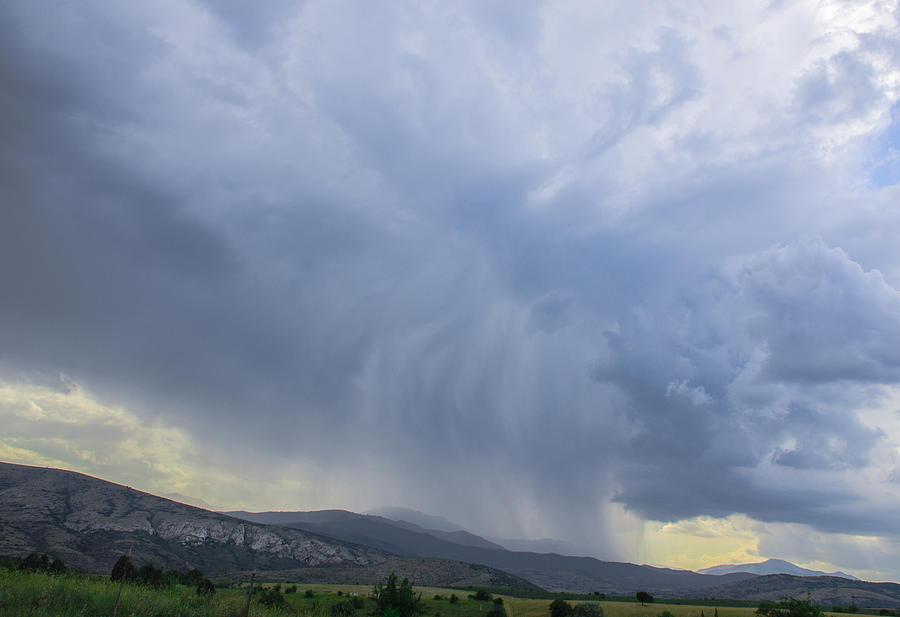 Sky Photograph - Scary Faces by Sotiris Filippou