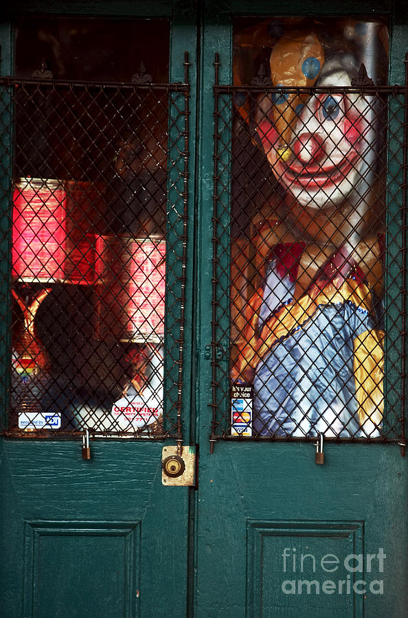 Orleans Photograph - Scary Orleans by John Rizzuto