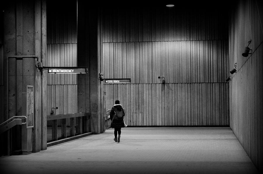 Metro Photograph - Scene In Villa-maria by Eric Soucy