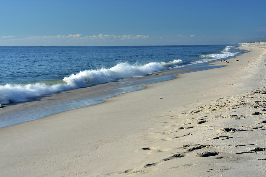 Scenery Of New Jersey Shore Photograph by Aimin  Tang