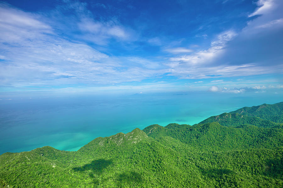 Scenic Andaman Sea View Photograph by 35007