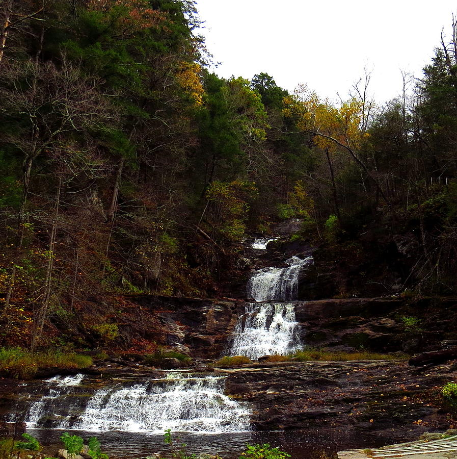 Connecticut Photograph - Scenic Kent Falls by Stephen Melcher