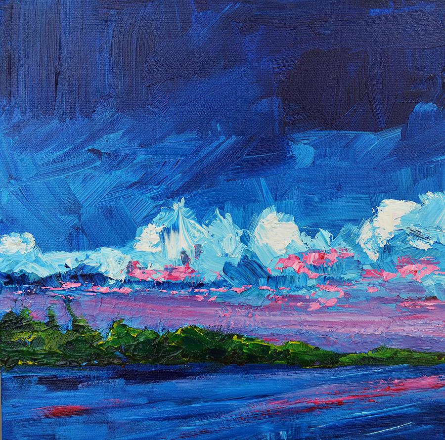 Art Painting - Scenic Landscape  by Patricia Awapara