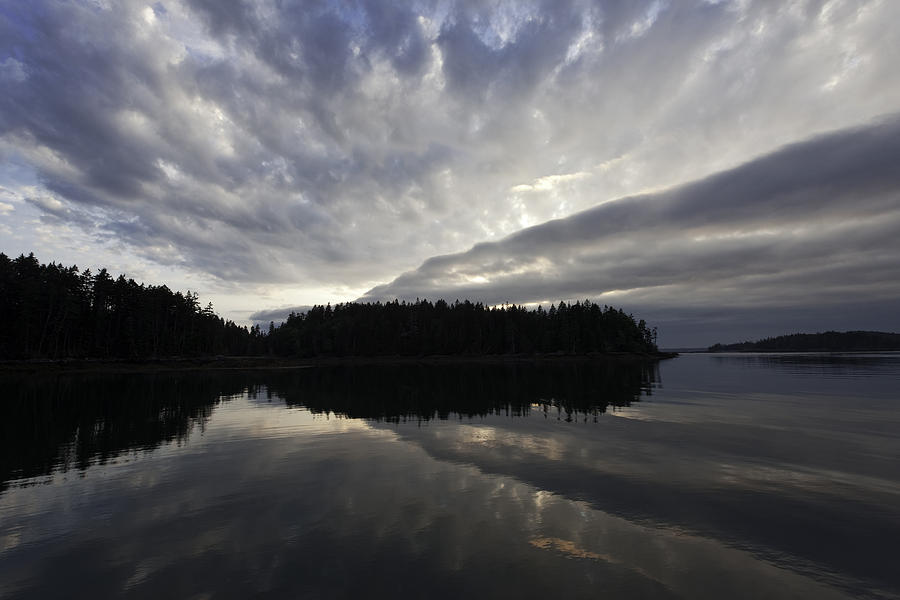 Roque Photograph - Scenic Maine Roque Island Archipelago Reflections by Susan  Degginger