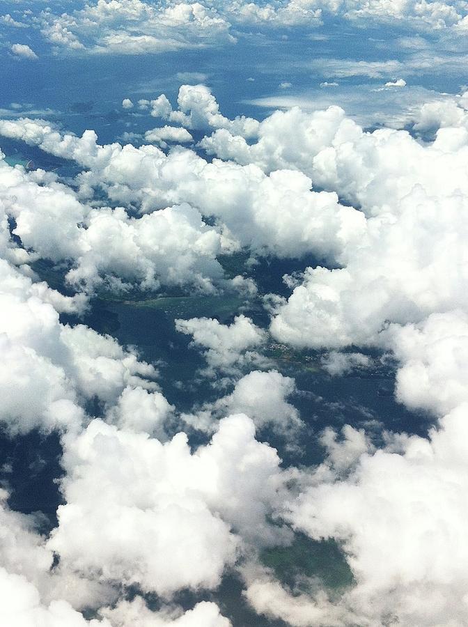 Scenic View Of Cloudy Sky Photograph by Agnieszka Morawska / Eyeem