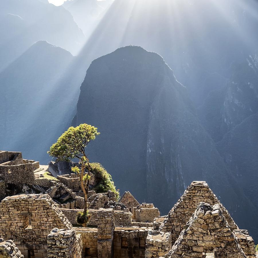 Scenic View Of Machu Picchu Photograph by Diego Cambiaso / Eyeem