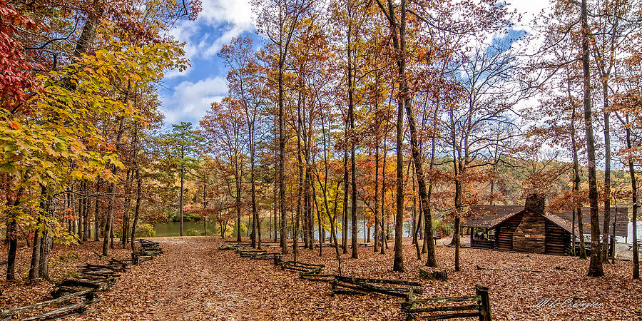 Scenic View of Oconee State Park by Mike Covington