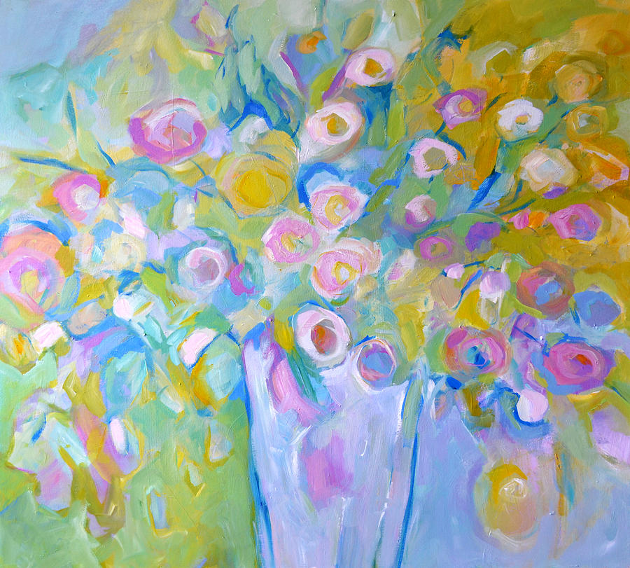 Flowers Painting - Scent Of Spring by Filomena Booth