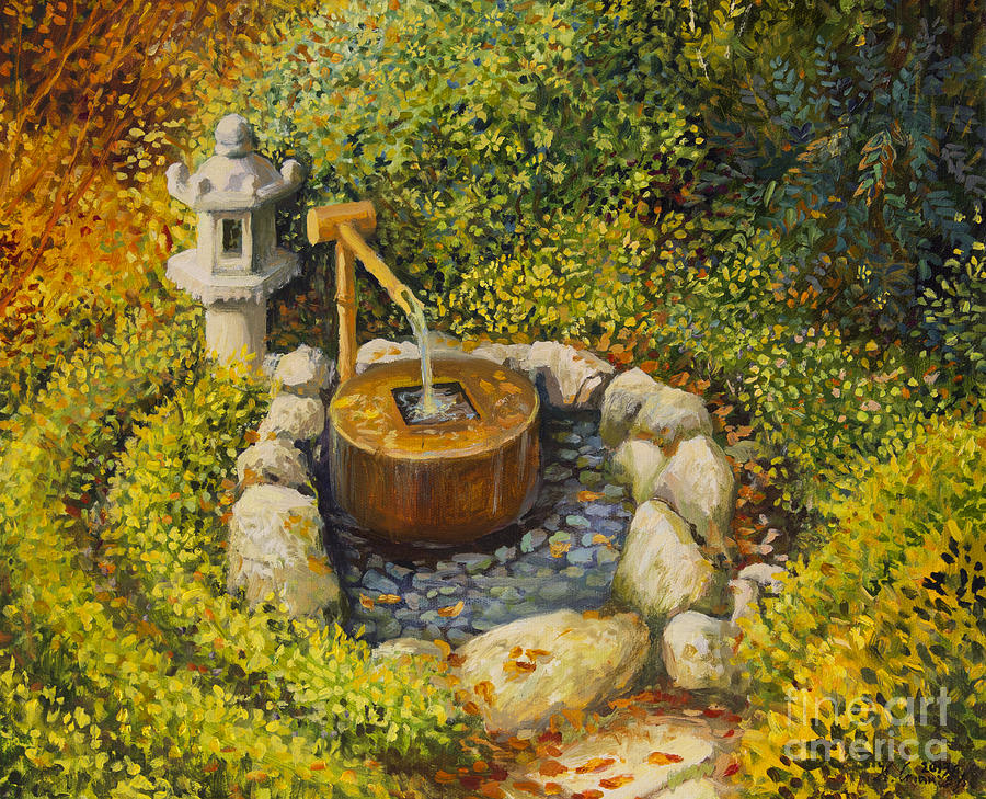 Zen Painting - Scent Of Tranquility by Kiril Stanchev